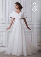 Накидка меховая из норки купить Москва для невесты