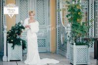 Свадебное платье свадебные шубки напрокат аренда купить Москва фото